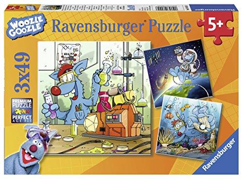 Ravensburger 08045 Woozle Goozle im Weltall, Labor und Unterwasser