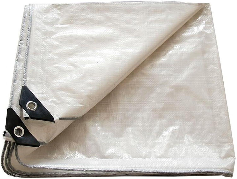 Pengbu MEIDUO Awning, Canopy Plane-Abdeckungs-Weiß-PET wasserdicht, groß für Plane-Überdachungs-Zelt, Stiefel, RV oder Pool-Abdeckung -0.3mm 120g m2 für draußen B07DHCMYLH  Kostengünstig