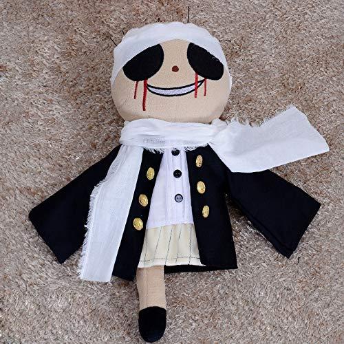 shenlanyu Stofftier Japanese Anime Bungo Stray Dogs Kyuusaku Yumeno Cute Plush Doll Toy Cosplay Prop Handmade Halloween