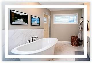 LED Front-Lighted Bathroom Vanity Mirror: 60
