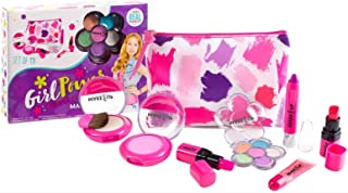 Make it Up Girl Power Deluxe Washable Makeup Kit for Young Girls and Tweens