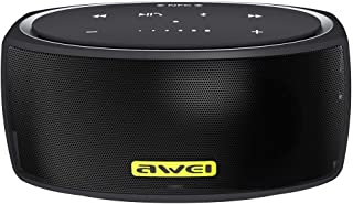 AWEI Y210 Portable Wireless Bluetooth Speaker V4.2 with Enhanced Bass, Support NFC/TF Card/AUX - Black