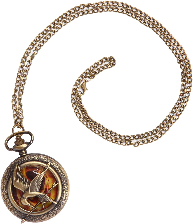 Necklace  Hunger Games  Mockingjay Watch New Toys fj39dbthg