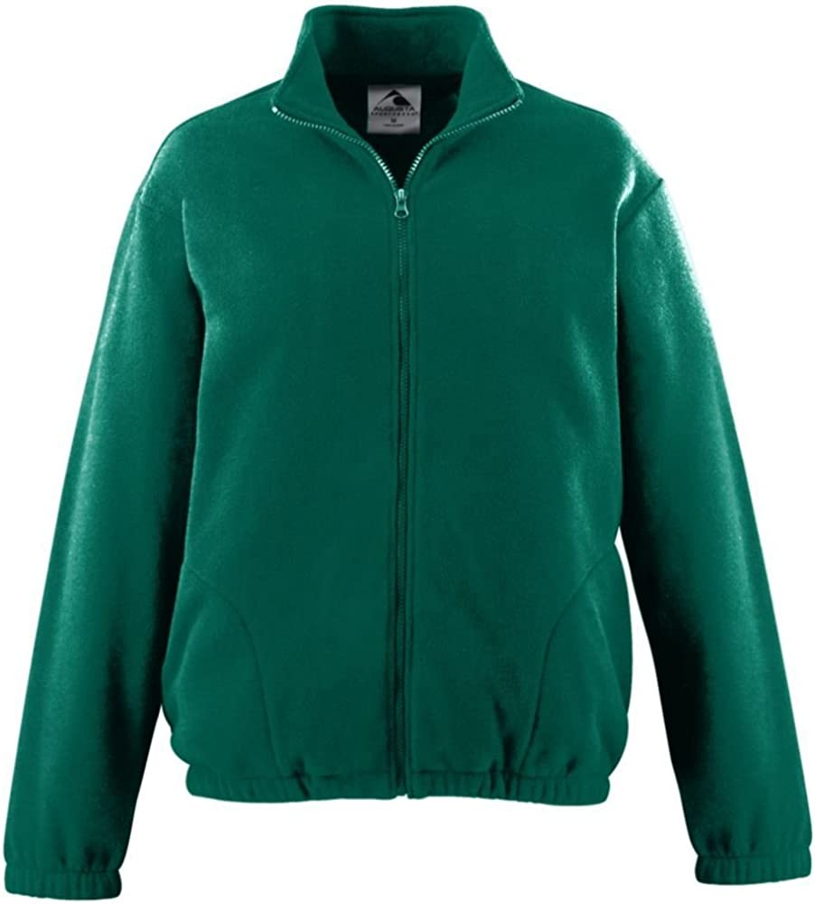 Augusta Activewear Sale special price Free shipping Boy's Chill Zip Fleece Full Jacket