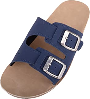 ABSOLUTE FOOTWEAR Womens Casual Slip On Mule Wedge Summer/Holiday Sandals/Shoes