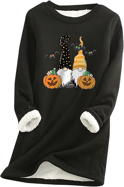 YAYUMI Women Gorgeous Halloween Costume Swe Print Long-Sleeved Ranking TOP14