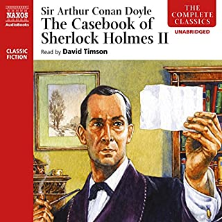 Couverture de The Casebook of Sherlock Holmes, Volume II