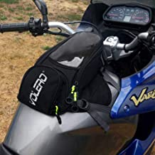 WE-WIN Borsa Serbatoio Carburante Olio Moto Magnetico per Honda per Yamaha