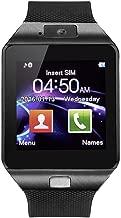Aeifond Smart Watch - DZ09 Touchscreen Bluetooth Smartwatch Wrist Watch Fitness Tracker with Camera Pedometer SIM TF Card Slot Compatible Samsung Android iPhone iOS Kids Women Men (Black)
