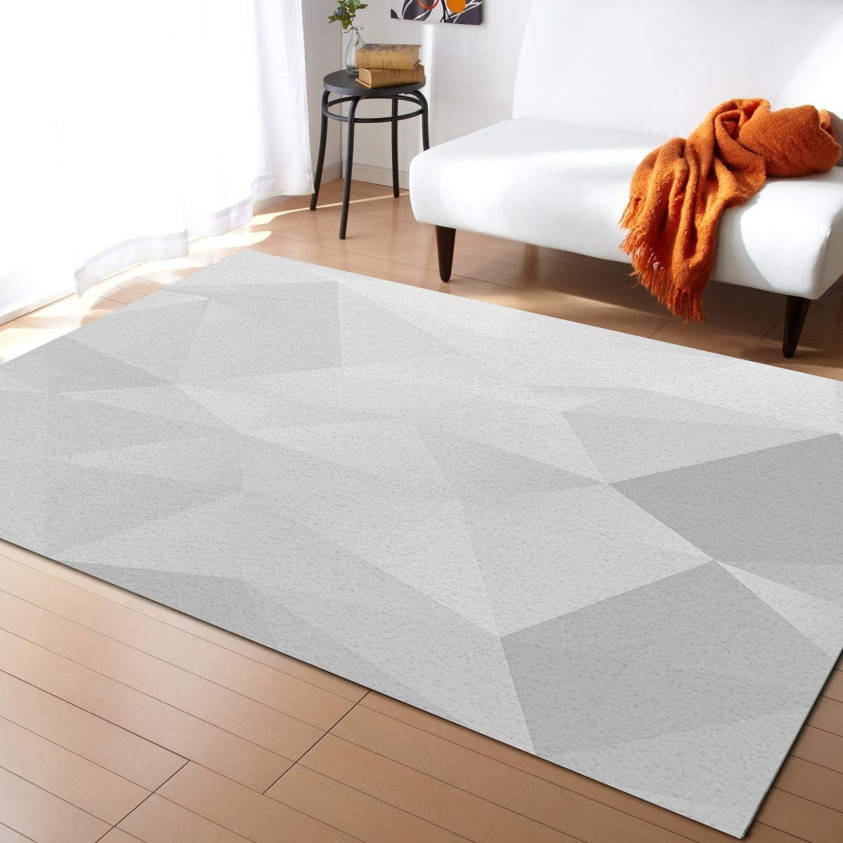Popular brand Prime Fees free Leader Modern Contemporary Area Room for Living Gray Rug