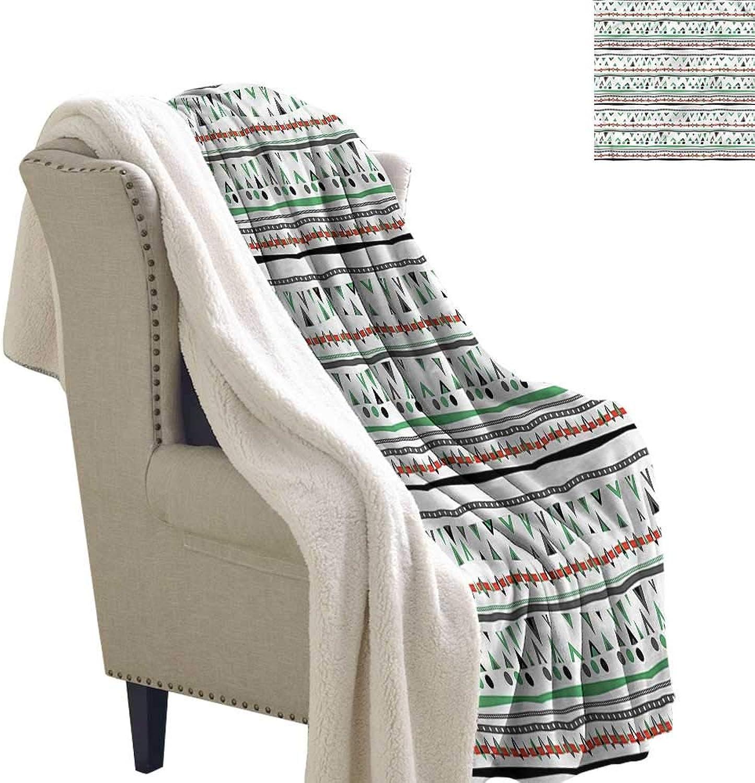 Beihai1Sun Tribal Blanket Small Quilt Boho Hippie Traditional 60x32 Inch