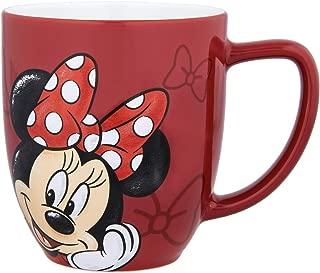 Disney Parks Minnie Mouse Portrait Face Ceramic Mug Cup NEW