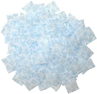 100 Packets 2 Gram Silica Gel Desiccant Moisture Absorber Dehumidifier Food Contact Safe