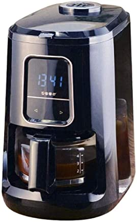 NJYDQ Coffee Maker, Single-Serve with Carafe, Stainless Steel