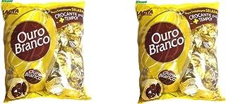 LACTA Ouro Branco Bombon 1 kg. (2.2 lbs) - 2 Packs.