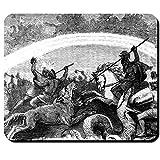 Ragnarök Fighting Undergoing Gods Friedrich Wilhelm Heine Gods Dawn Worldsbrand Odin Thor Loki - Mouse Pad/Mousepad