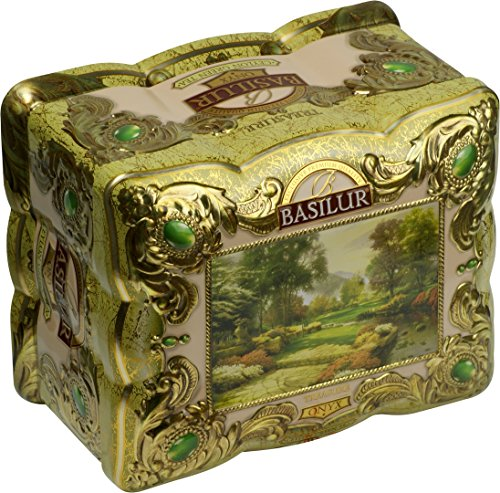 BASILUR Treasure Onix Grüner Tee Dose 100g
