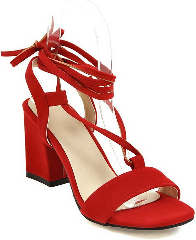AdeeSu Womens Cold Lining Kitten-Heels Dress Urethane Sandals SLC03808