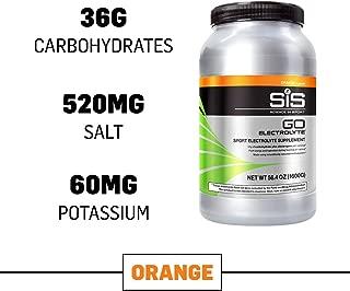 Science in Sport Go Electrolyte Energy Drink Powder, Orange Flavor Sports Performance & Endurance Supplement - 3.52 Lb
