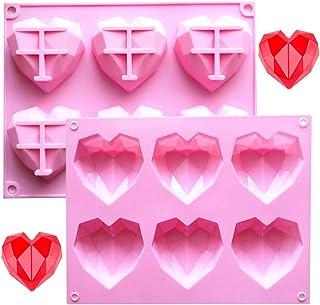 Mayr /& Huber Haushaltswaren Herzbackform Herz Herzform Silikon Silikonbackform Herzkuchen Herztorte Silikonform Form