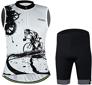 Aogda Bicycle Jerseys Women Bike Shirts Biking Sleeveless Clothing Ladies Bicycle Tights Team Cycling Vests