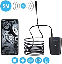 DBPower Semi-Rigid 2MP HD WiFi Endoscope