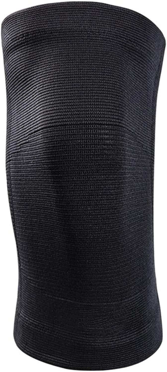 LNYJ Professional basketball training breathable knee pads thin pull knit wearresistant antislip pressure knee predection high telescopic knee health sheath breathable men and women four seasons uni