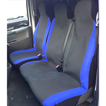 Ford Transit Custom 14 on URBAN GREY CAMOUFLAGE Waterproof VAN Seat COVERS