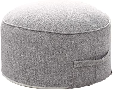 Small Pouf for Kids Foot Stools Ottomans, Foot Rest Pouffe for Sitting, Ottoman Pouf for Living Room Small Space, Lightweight
