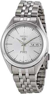 Seiko 5 SNKL15 Men's Stainless Steel Silver Dial Self Winding Automatic Watch