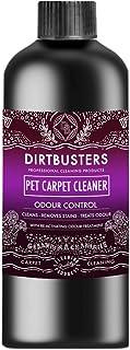 Dirtbusters Limpiador de alfombras para Mascotas, 1 litro, Profesional, Aspirador de alfombras y tapicería, Limpiador de solución de champú con Tratamiento de olores reactivo
