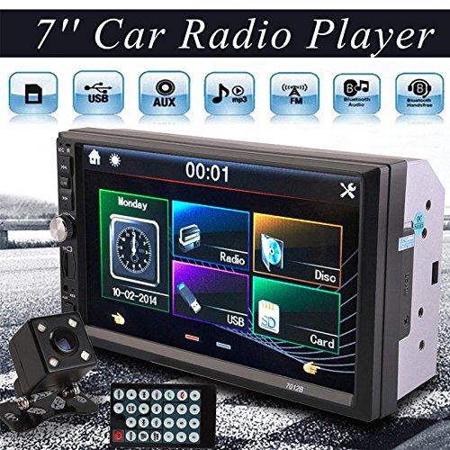 Sedeta 7 Pulgadas 2DIN Car MP5 Player Receptor Estéreo