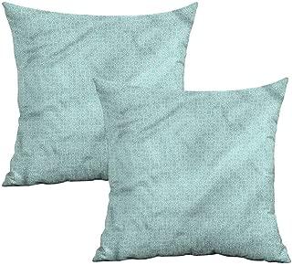 Khaki home Celtic Square Travel Pillowcase Aqua Celtic Patterns Square Pillowcase Covers Cushion Cases Pillowcases for Sofa Bedroom Car W 18