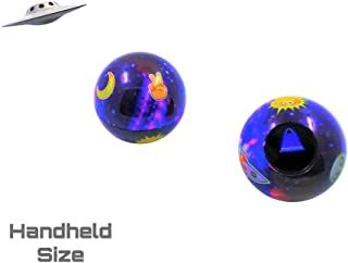 Unique Galaxy Themed Emoji Magic Ball | Mini-Size | Fortune Teller | Question 8 Ball Game That Answers Questions & Gives Advice | Gift Ideas | Party Supplies | Retro Toys