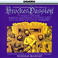 Brockes Passion by PHILIPP TELEMANN GEORG (1991-08-09)