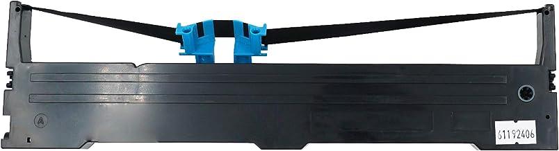Printerfield Printer Ink Ribbon Reemplazo de Tinta de la Impresora Paquete de 1 para EPSON FX-890 LQ-590 - Negro