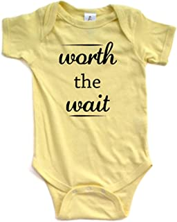 Best some things are worth the wait onesie Reviews