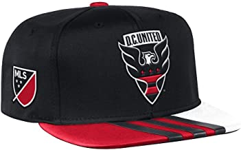 adidas DC United MLS 2017 Authentic Team Performance Snap Back Hat