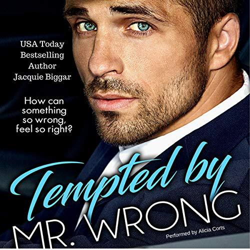 Tempted by Mr. Wrong audiobook cover art