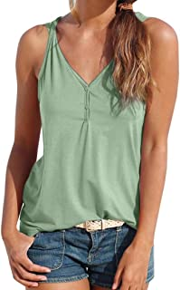 Womens Summer Strappy Vest Top Sleeveless Shirt Blouse Casual Tank Tops