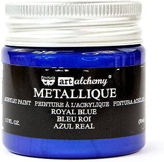 Prima Marketing Metallique Royal Blue Finnabair Art Alchemy Acrylic Paint 1.7 Fl. Oz