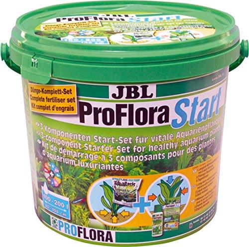 JBL ProfloraStart Set 2021800 Pflanzendünger Start-Set für Süßwasser Aquarien, 6 kg