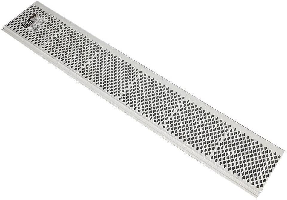 ZeoTioo Pack of SNAP-in White Gutter Guard Screen Debris depot Cover sold out L