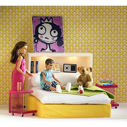 Lundby Stockholm Bedroom Playset