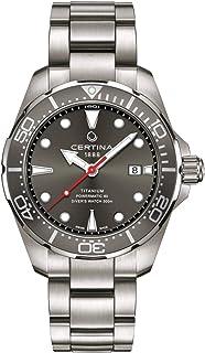 Certina DS Action Diver C032.407.44.081.00 Montre automatique pour homme Cadran gris