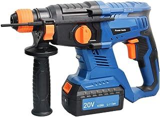 3 in 1 Hammer Drill, Duty Rotary Hammer Drill 3 Function and Adjustabl Soft Grip Handle 20V 4.0Ah 26Mm Drilling Diameter