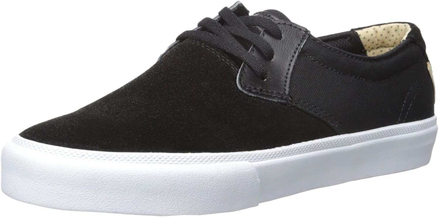 Lakai Men's MJ Action Sports, Black Suede