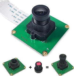 InnoMaker Raspberry Pi Camera Module 5MP 1080P OV5647 Sensor with M12 FOV90 IR Filter LEN For Raspberry Pi 4, Pi 3 B+, Pi ...