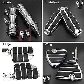 Spike Rear Foot Peg fit For 2010-2015 14 Honda VT1300 Sabre Stateline Interstate