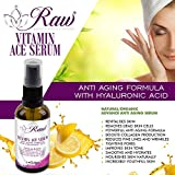 Vitamin ACE Serum, an Exceptional Vitamin C Serum Fused With Vitamins A, E & Hyaluronic Acid for Pure Skin Hydration, Reduction of Fine Lines & Wrinkles and Anti Aging for Outstanding Natural Beauty.